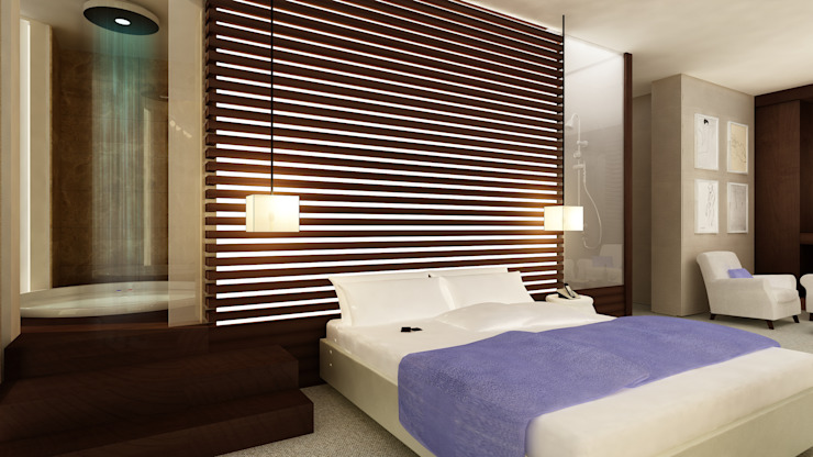SUITE Hotel moderni di Studio Giangrande Moderno