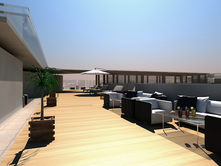 Hotels oleh Studio Giangrande, Modern