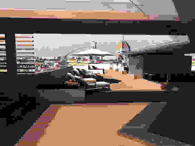ROOF GARDEN Hotel moderni di Studio Giangrande Moderno