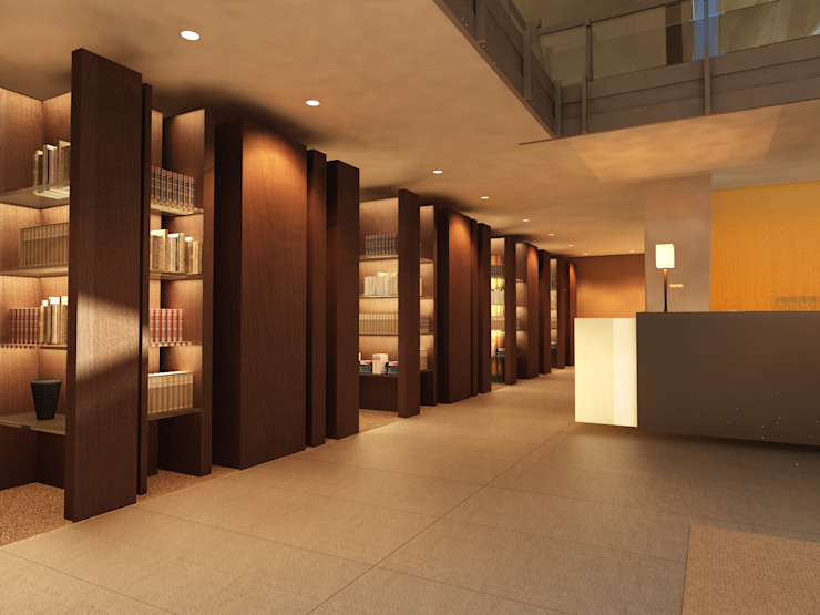 BIBLIOTECA Hotel moderni di Studio Giangrande Moderno