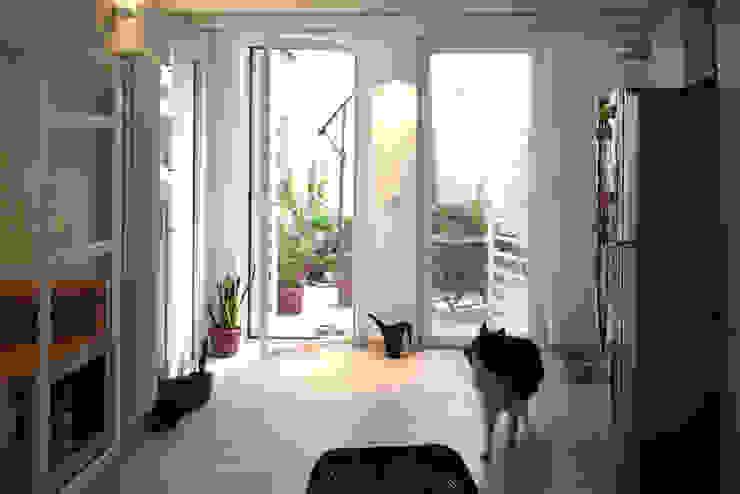 Casa CM Finestre & Porte in stile industriale di Nicola Sacco Architetto Industrial