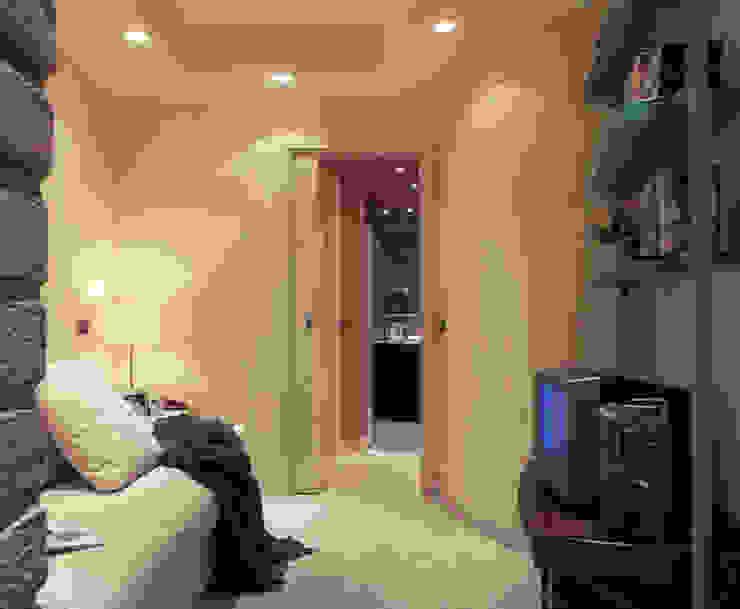 Mini Appartamento 36mq Case moderne di Studio Architettura e Design Giovanna Azzarello Moderno