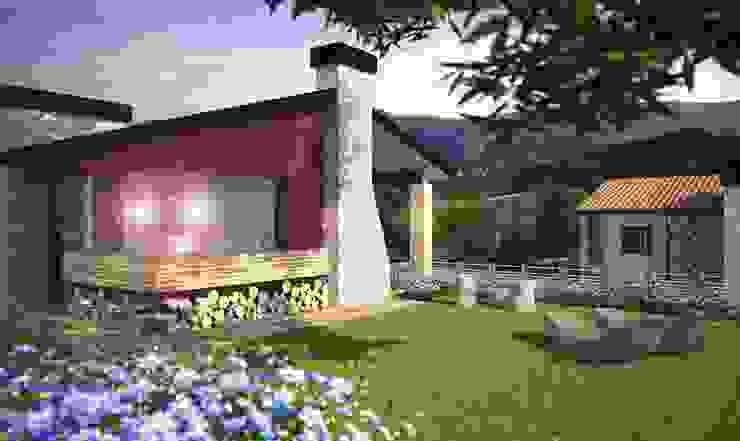 Render 1 Case di Atelier Architetto Ermanno Boggio