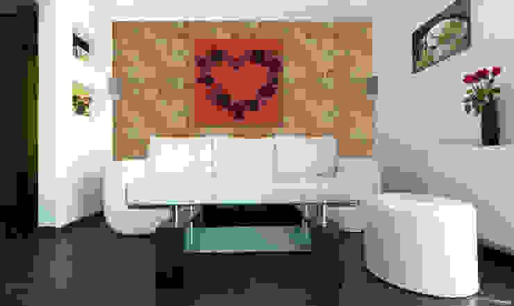 Ladrillo Tosco Paredes y pisos de estilo rural de homify Rural Aglomerado