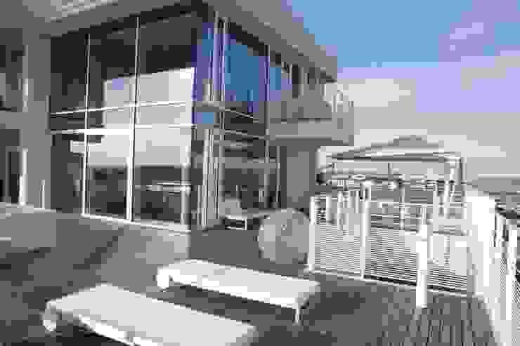 Attico Interni al The Beach Houses firmate Richard Meier di Stay Green Venezia Minimalista