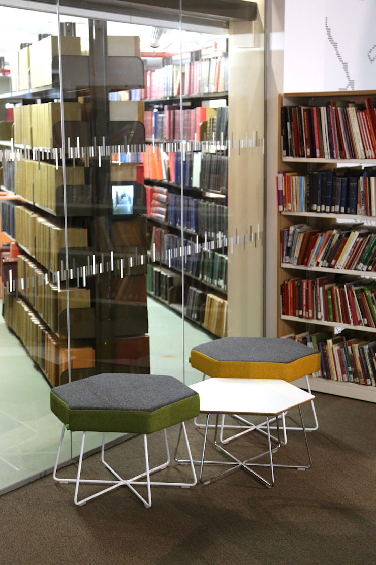 Manchester Central Library: modern  by naughtone, Modern