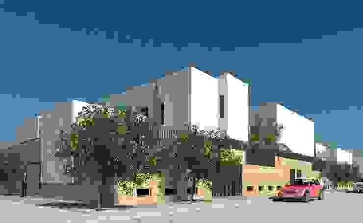 46 Viviendas Vegas del Genil de Argola Arquitectos Mediterráneo