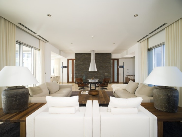 Project Monterei Casas por Reflexões Contemporary Design