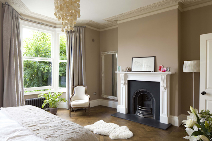 Huddleston Road Modern style bedroom by Sam Tisdall Architects LLP Modern