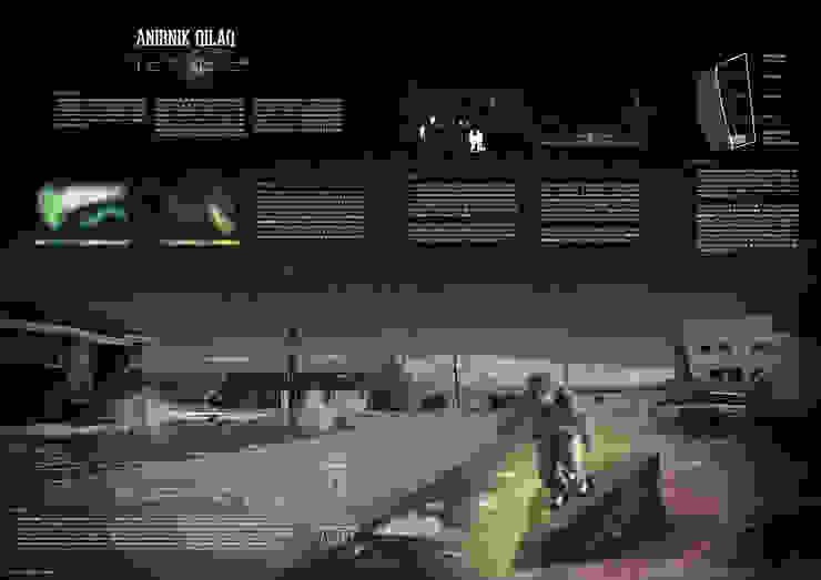 Anirnik Qilaq - Luminaire Nomade par Matthieu Bégoghina Architecte Minimaliste