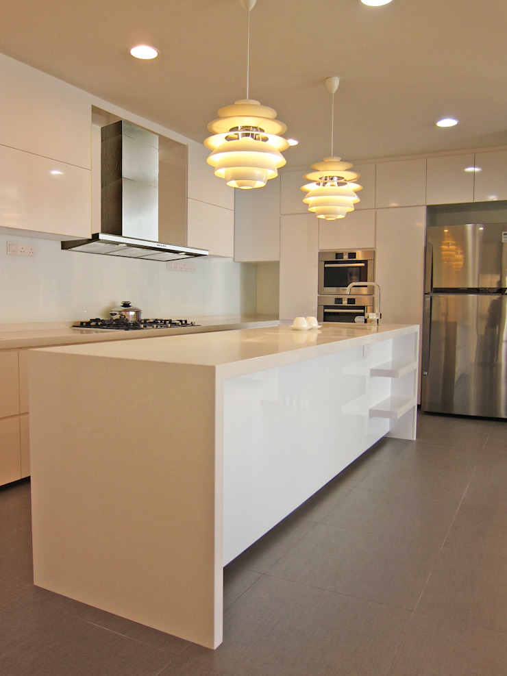 kitchen counter JIA Studios LLP