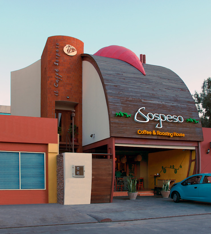 Cafe Sospeso de Chávez & Díaz Arquitectos Ecléctico