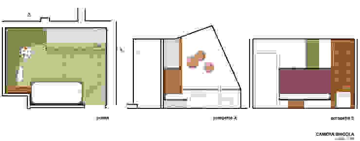 Casa S&V Case moderne di Bcubo Architetti Moderno