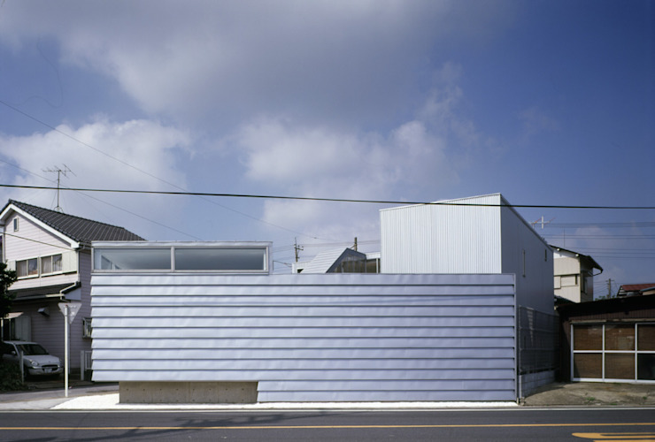 Moderne Häuser von M2-Nakatsuji Architect Atelier Modern