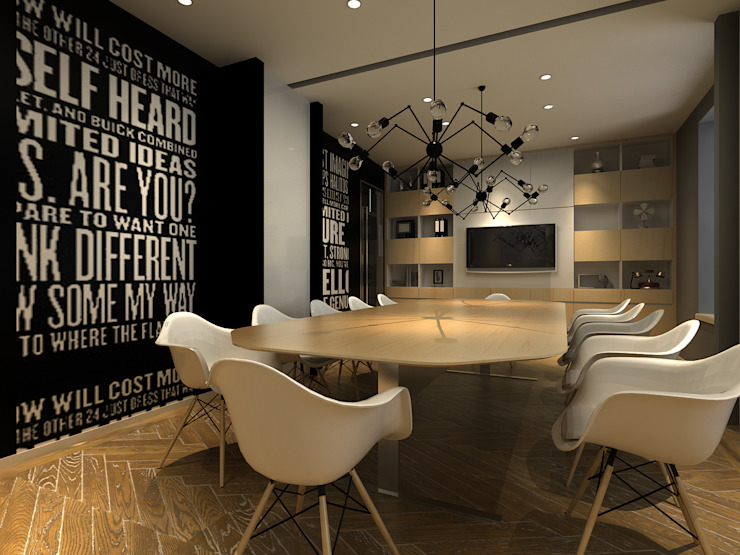 Conference Room by Ashleys Minimalist