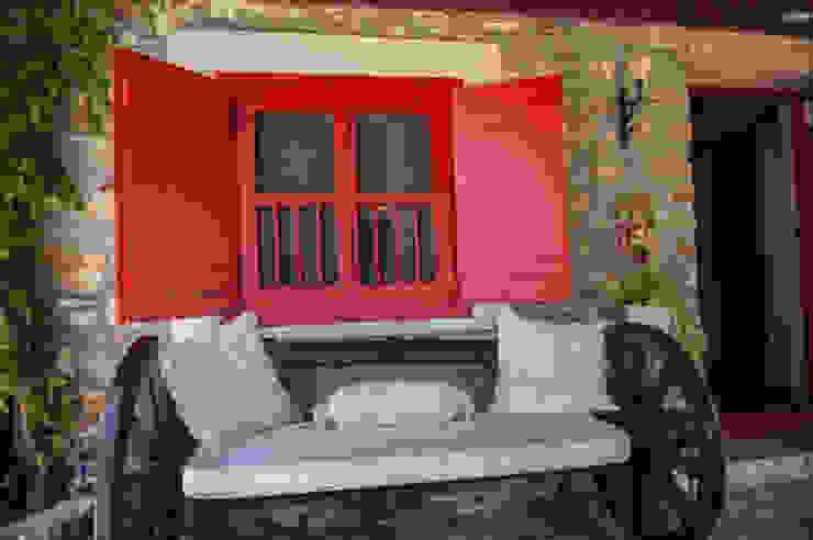 Vasilaki Kırsal Balkon, Veranda & Teras ARAL TATİLÇİFTLİĞİ Kırsal/Country