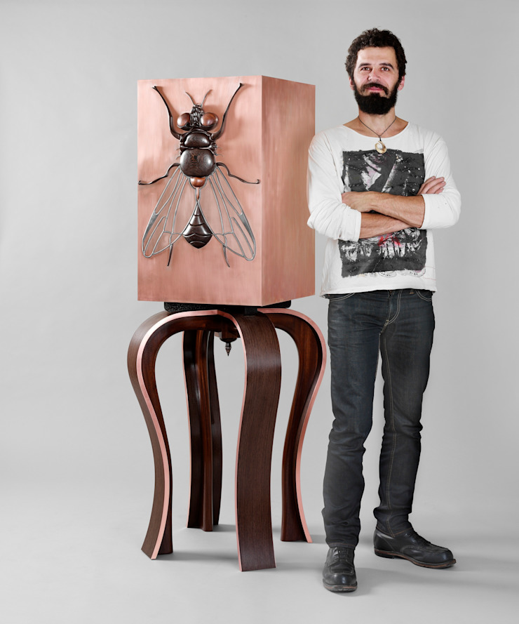 Beelzebub Cabinet by Andrea Felice: eclectic  by Andrea Felice - Bespoke Furniture, Eclectic