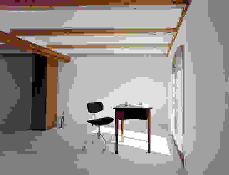 Haus Stein Minimalistische Arbeitszimmer von JAN RÖSLER ARCHITEKTEN Minimalistisch