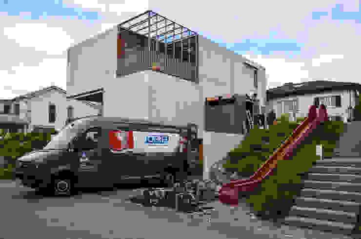 gartenhaus @gart – Meisterschwanden, Schweiz Moderner Garten von design@garten - Alfred Hart - Design Gartenhaus und Balkonschraenke aus Augsburg Modern