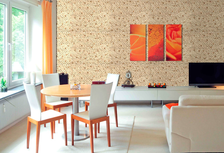 Mediterranean walls & floors by homify Mediterranean Chipboard