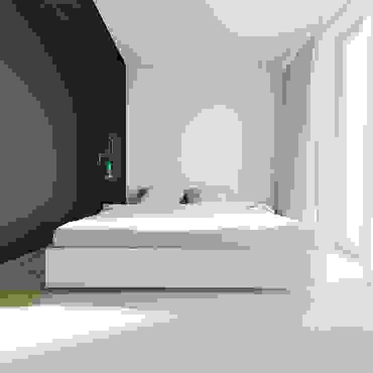 Quartos minimalistas por 081 architekci Minimalista