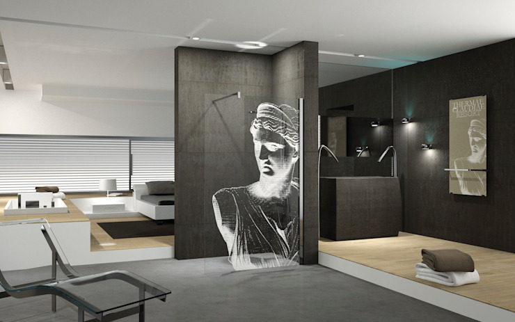 Kuadra:  Badkamer door Novellini ,