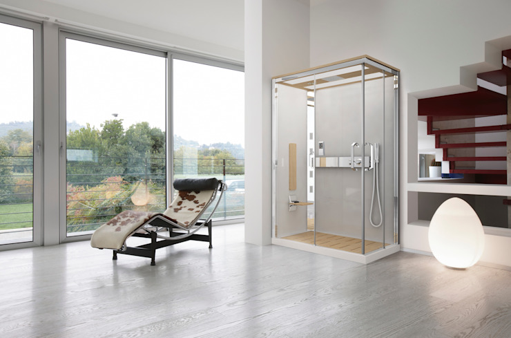 Nexis: modern  door Novellini , Modern