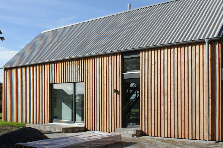 Casas modernas por JEBENS SCHOOF ARCHITEKTEN Moderno