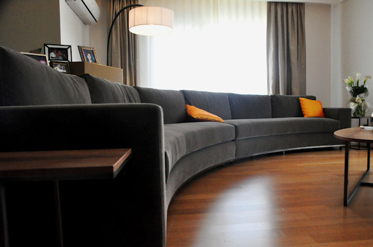 Çengelköy Villa Eclectic style houses by Derun Architecture & Interior Design Eclectic