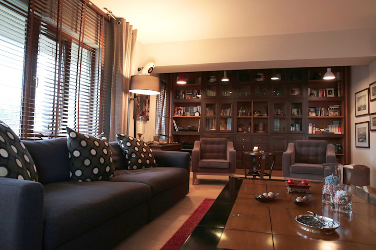 Cadde Bostan Private Apartment Derun Architecture & Interior Design Ausgefallene Wohnzimmer