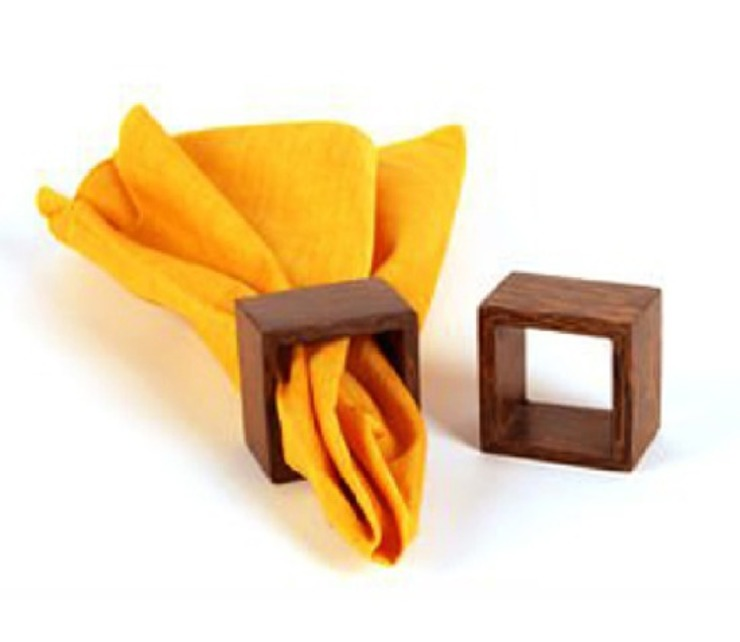 NAPKIN RING: classic  by Wooden Gift Company,Classic