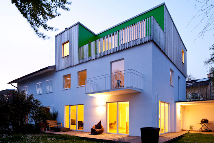 Houses by hausbuben architekten gmbh, Modern