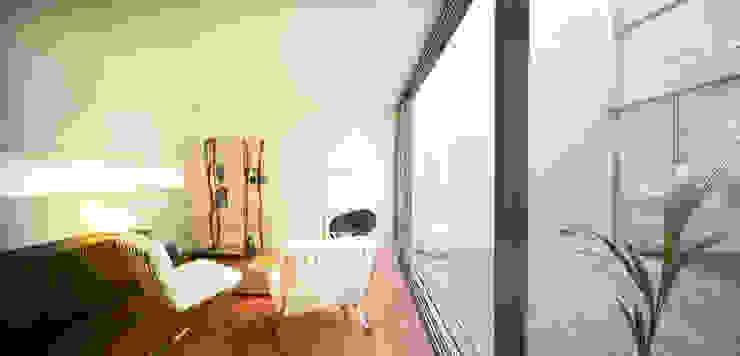 Soggiorno moderno di Rocamora Arquitectura Moderno