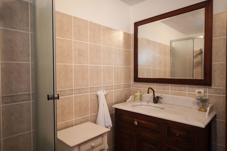 ARAL TATİLÇİFTLİĞİ – Arılık:  tarz Banyo