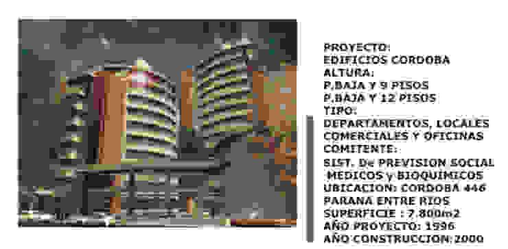 Casas modernas de Estudio Cassano y Asociados Moderno