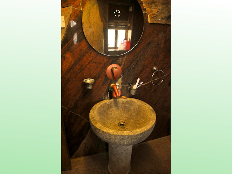 Residence at Bandra Asian style bathroom by Design Kkarma (India) Asian