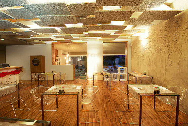 Mei – soulful sushi:  in stile industriale di Studio Tecnico Magenis Professionisti Associati, Industrial
