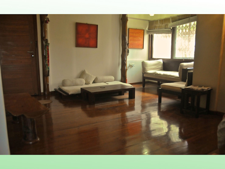 Residence at Bandra Asian style bedroom by Design Kkarma (India) Asian