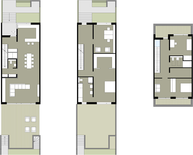 Grundrisse von Dewey Muller Partnerschaft mbB Architekten Stadtplaner