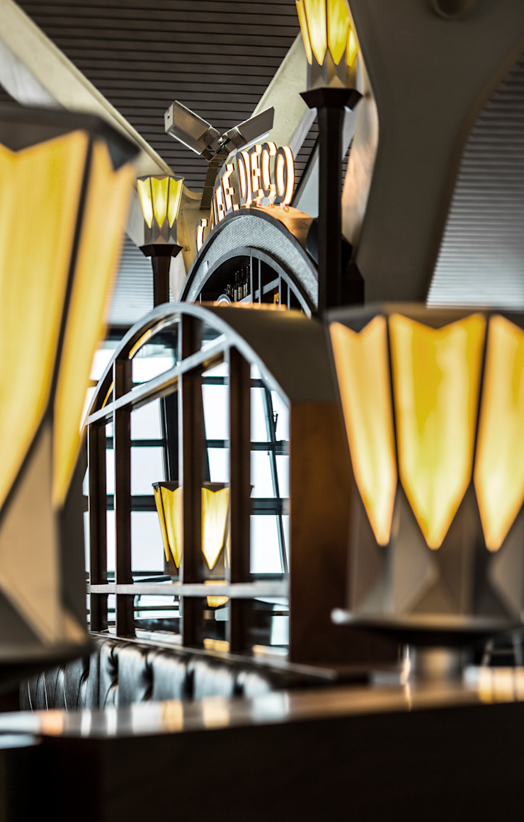 Cafe Deco Shanghai : classic  by 4N architects, Classic