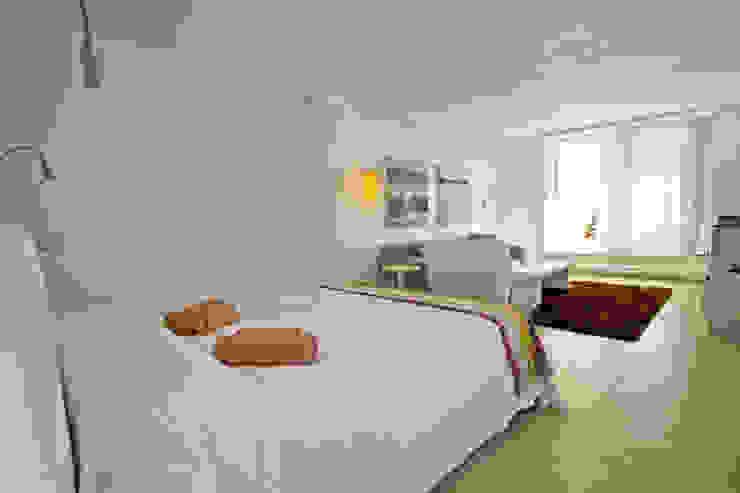 Loft Dormitorios de estilo moderno de Ivan Torres Architects Moderno