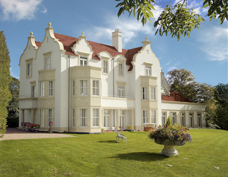 Highfield Gardens, Kent : modern  by Capra Architects, Modern