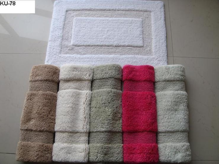 ​KU-78-BM  (100% super-soft cotton tufted bathmats): asian  by Kansal Udyog,Asian
