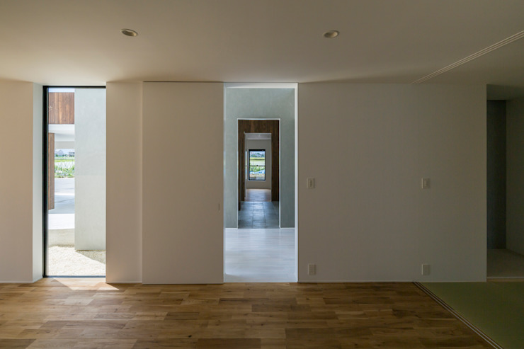 SUNOMATA モダンスタイルの 玄関&廊下&階段 の 武藤圭太郎建築設計事務所 モダン