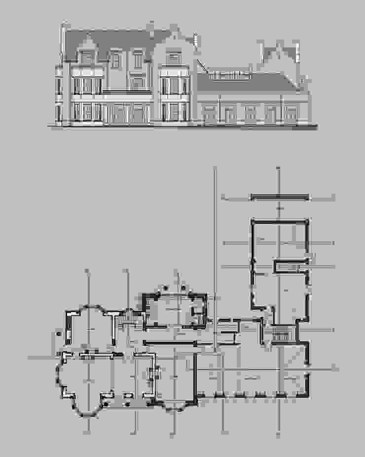 Highfield Gardens, Kent de Capra Architects Moderno