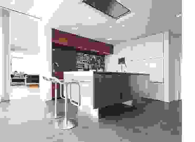 Cozinhas modernas por Herzog-Architektur Moderno