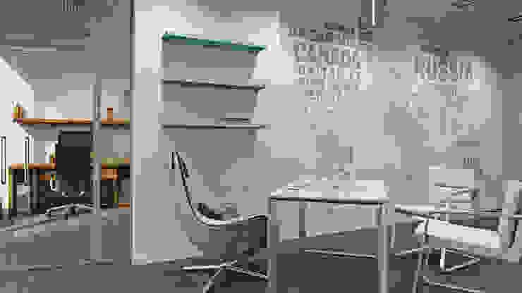 Estudios y despachos de estilo minimalista de De Steil Minimalista