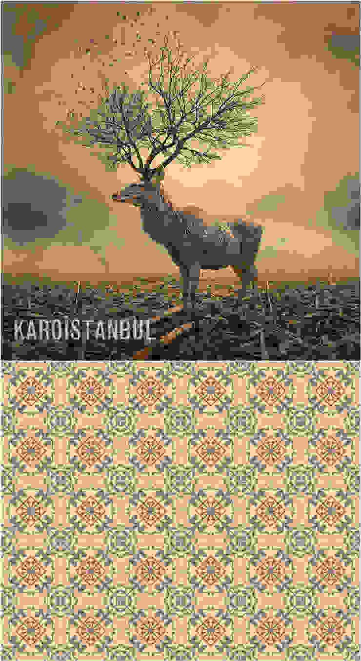 Surrealistic Colors... Surrealistic Designs and Tiles Karoistanbul Cement Tiles
