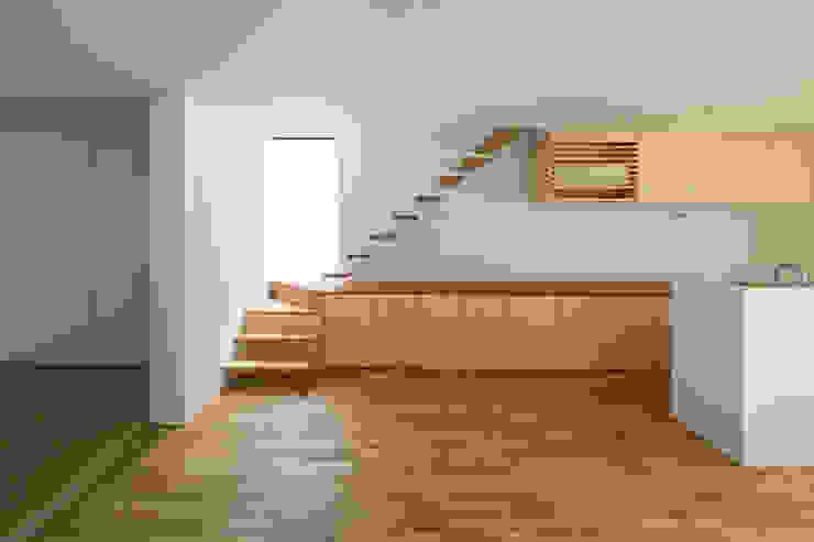 SUNOMATA モダンな キッチン の 武藤圭太郎建築設計事務所 モダン