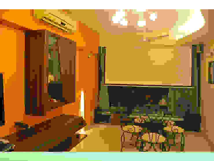 Residence in Lokhandwala Design Kkarma (India) Modern living room